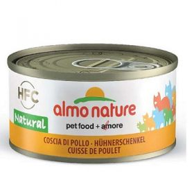 Almo Nature Gatto HFC Natural Coscia di Pollo 70 gr