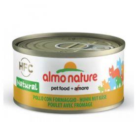 Almo Nature Gatto HFC Natural Pollo e Formaggio 70 gr
