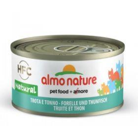 Almo Nature Gatto HFC Natural Trota e Tonno 70 gr