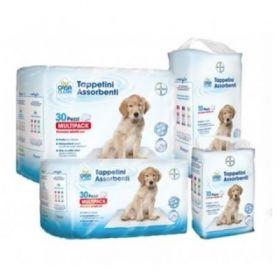 Bayer Pet casa clean tappetini assorbenti 60x60 10 pezzi