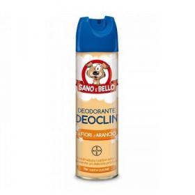 Bayer Sano e bello Deoclin Deodorante assorbiodore Fiori d'Arancio per Cani 250 Ml