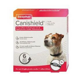 Beaphar Canishield Collare Antiparassitario per Cane Taglia Small e medium