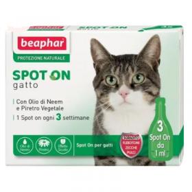 beaphar spot on gatto