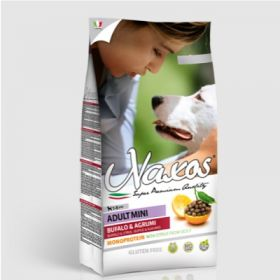 Adragna Pet Food Cane Naxos Adult Mini Bufalo e Agrumi di Sicilia 2,5 Kg
