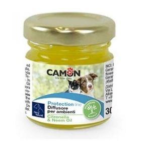 Camon Protection Diffusore per ambienti con Citronella e Olio Neem - 30 ml