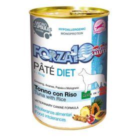 Forza 10 Paté Diet al Tonno e Riso Lattine da 400gr