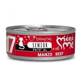 Disugual Mini me Gatto Senior al Manzo 85 Gr.