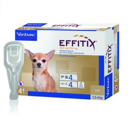 Virbac Effitix Cani Extra Small 4 Pipette