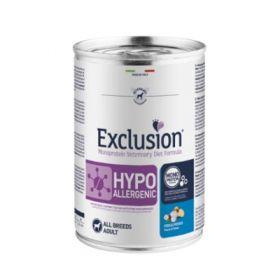 Exclusion Diet  Cane Hypoallergenic con Pesce e Patate Lattine da 400gr