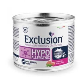 Exclusion Diet Hypoallergenic Puppy Junior Maiale e Piselli Cane 400 Gr