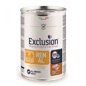 Exclusion Diet Renal All Breeds Maiale, Saggina e Riso Cane 200 Gr.