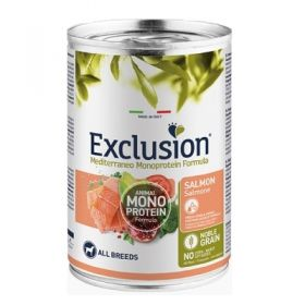 Exclusion Mediterraneo Adult All Breed Salmone 400 Gr. - Noble Grain