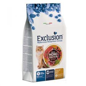 Exclusion Mediterraneo Gatto Adult Noble Grain Sterilized al manzo 1,5 Kg.