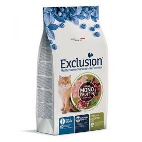 Exclusion Mediterraneo Gatto Adult Noble Grain Sterilized al pollo 1,5 Kg.