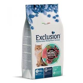Exclusion Mediterraneo Gatto Adult Noble Grain Sterilized al tonno 1,5 Kg.