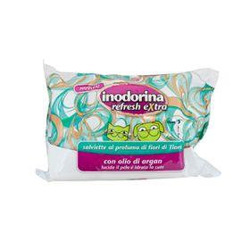 Pet Village Inodorina Refresh Salviette Detergenti Extra Fiori di Tiarè pz.40