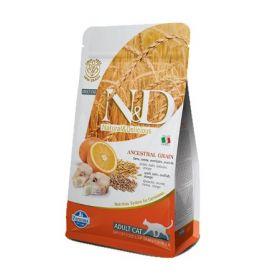 Farmina N&D Low Grain Adult Cat Merluzzo e Arancia kg.1,5