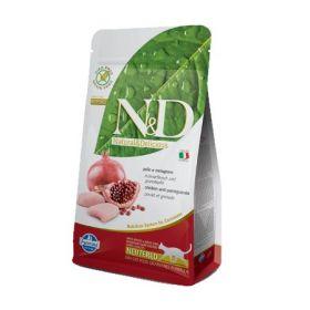 Farmina N&D Grai Free Cat Neutered Pollo e Melograno Kg.1,5