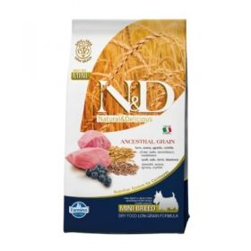 Farmina N&D Low Grain Ancestral Canine Adult Mini Agnello e Mirtillo 2,5 Kg