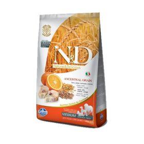 Farmina N&D Low Grain Cane Adult Medium Merluzzo e Arancia Kg.2,5