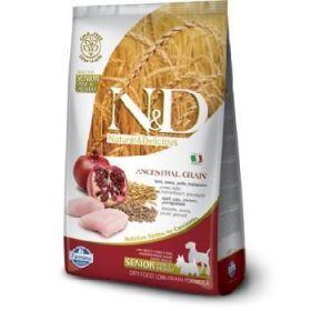 Farmina N&D Low Grain Ancestral Canine Senior Mini Medium Pollo e Melograno 2,5 Kg