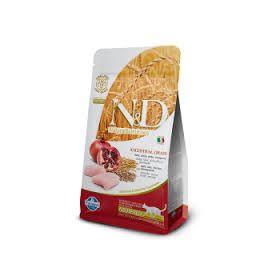 Farmina N&D Low Grain Gatto Neutered Farro Avena Pollo e Melograno 1,5 Kg