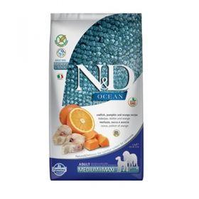 Farmina N&D Ocean Adult Mini Merluzzo Zucca e Arancia 2,5 kg