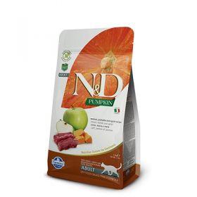 Farmina N&D Pumpkin Gatto Cervo Zucca e Mela 300 Gr