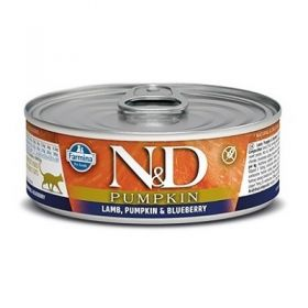 Farmina N&D pumpkin grain free gatto agnello zucca e mirtillo 80 gr