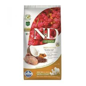 Farmina N&D Quinoa Cane Skin & Coat Quaglia Grain Free 800 Gr