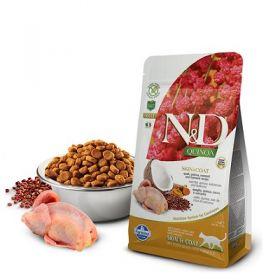 Farmina N&D Quinoa Gatto Skin & Coat Quail Grain Free 1,5 Kg