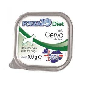 Forza 10 Cane Solo Diet Solo Cervo 100 Gr
