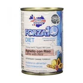 Forza 10 Diet Patè con Agnello e Riso Cane 400 gr
