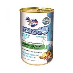 Forza 10 Diet Patè con Cervo e Patate Cane 400 gr