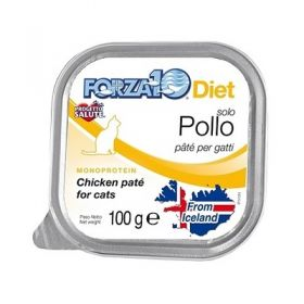 Forza 10 Gatto Solo Diet Pollo 100 Gr