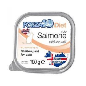 Forza 10 Gatto Solo Diet Salmone 100 Gr