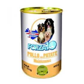 Forza 10 Maintenance Cane Adult Pollo con Patate 400 gr.