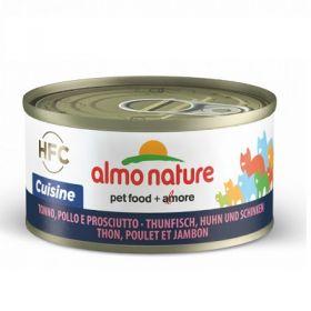 HFC Almo Nature Classic Gatto Cuisine Tonno Pollo e Prosciutto 70 gr.