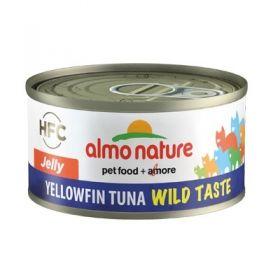 HFC Almo Nature Gatto Jelly Wild Taste Tonno pinna gialla 70 gr.