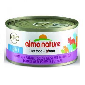 HFC Almo Nature Gatto Light Orata con Patate 70 gr