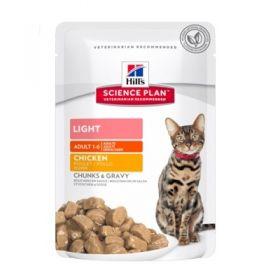 Hill's Adult Gatto Optimal Care Light al Pollo 85 gr.