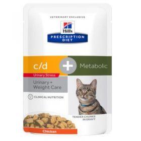 Hill's Prescription Diet c/d Gatto Multicare al Pollo Sacco da 5 kg