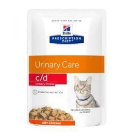 Hill's Prescription Diet c/d Gatto Multicare Urinary Care Pollo 12 Bustine da 85 gr