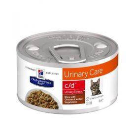 Hill's Prescription Diet c/d Gatto Multicare Urinary Care Pollo 82 gr