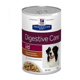 Hill's Prescription Diet i/d Canine Digestive Care spezzatino con Pollo e verdure 354 gr.