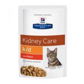 Hill's Prescription Diet k/d Gatto con Pollo 12x85 gr