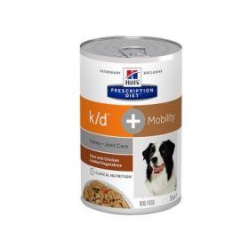 Hill's Prescription Diet k/d + Mobility Cane Spezzatino 354 Gr.