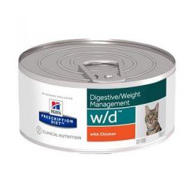 Hill's Prescription Diet w/d Gatto Digestive Weight Management 156 gr