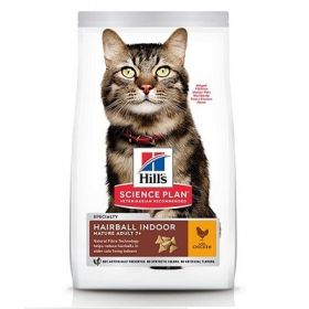 Hill's science Plan Gatto Adult Mature 7 + Hairball Indoor al Pollo 1,5 Kg