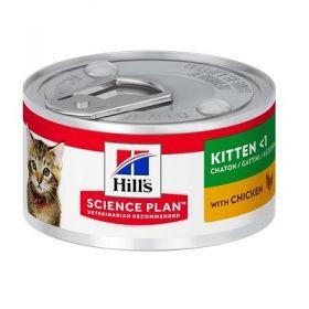 Hill's Science Plan Gatto Kitten Pollo 82 Gr in lattina